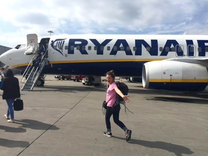 Travelling on RyanAir
