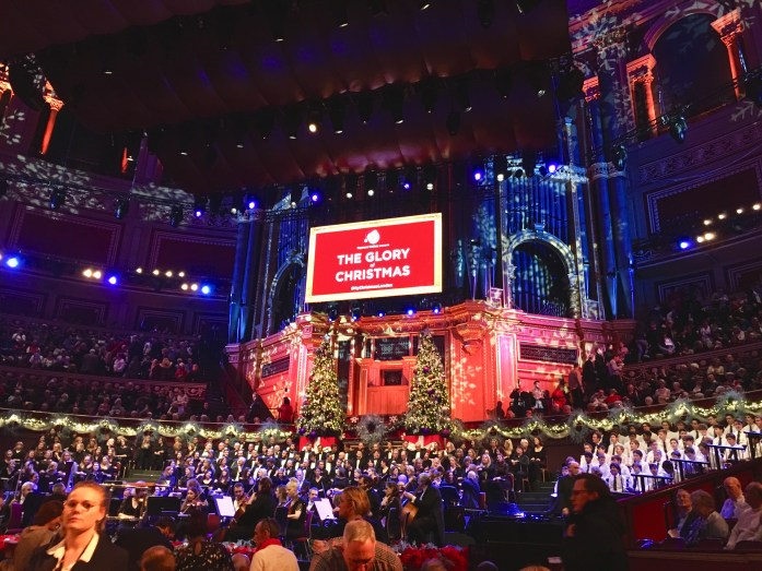 Glory of Christmas at Royal Albert Hall