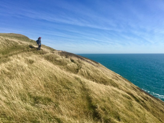 Hiking the South West Coast Path from Swanage to Worth Matravers