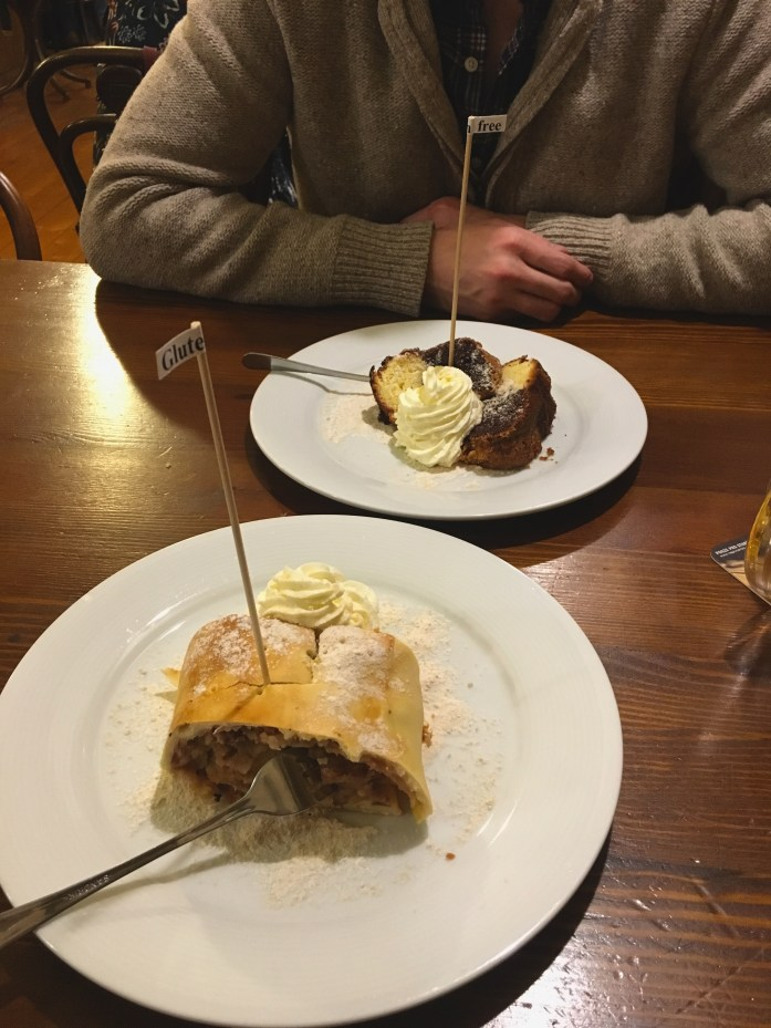 Glutenfree desserts in Prague
