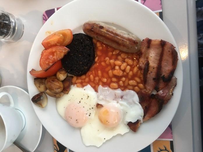 Westlea Guest House, Ullapool Breakfast