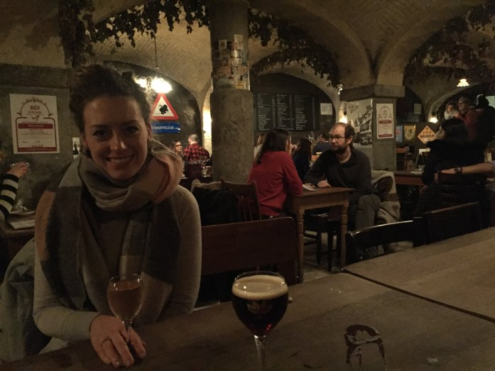 beer bar in bruges