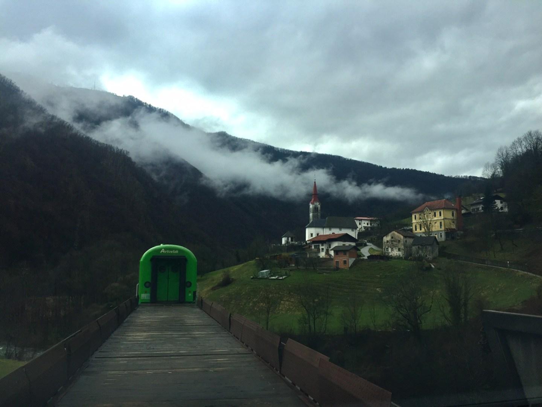 Bled, Bohinj and the Motorail to Ljubljana, Slovenia
