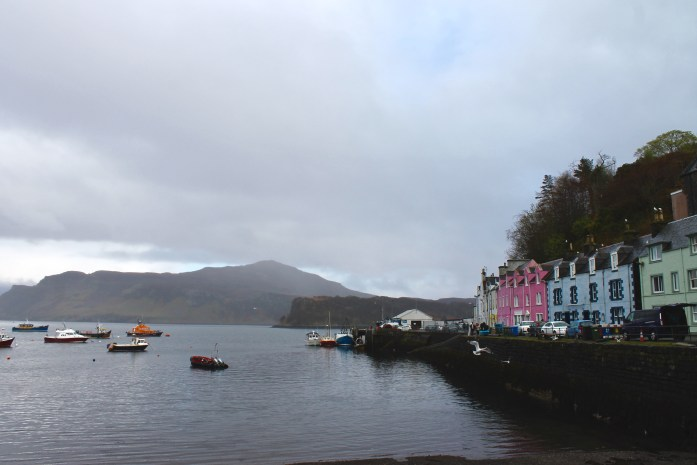 Portree harbor, Isle of Skye