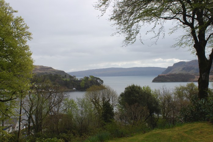 View of Portree from The Viewfield House, Portree, Scotland
