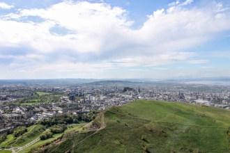 View from Arthur's Seat, Edinburgh, Scotland