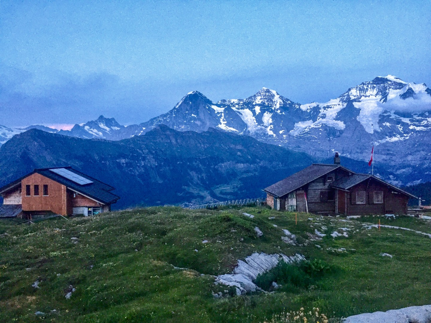 Backpacking in the Swiss Alps: Lobhornhütte