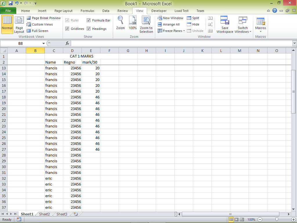 How To Freeze Selected Rows In Excel