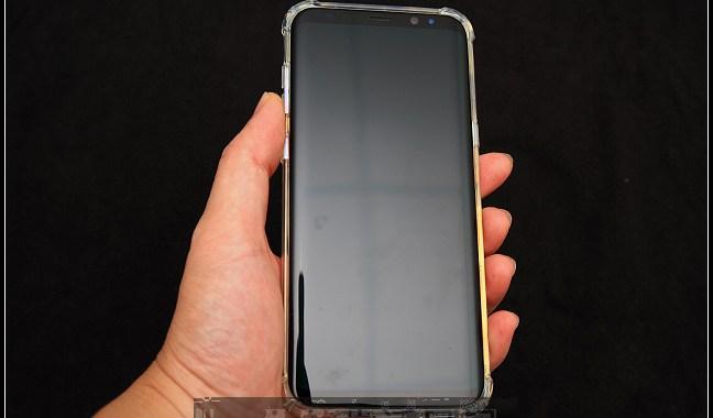 SEIDIO OPTIK™ 四角氣墊輕透保護殼for Samsung Galaxy S8 Plus分享 @basic的生活日記