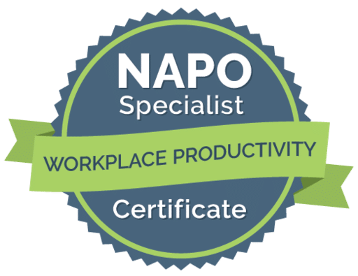 NAPO Specialist Certificate Workplace Productivity