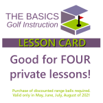 Private Lesson Coupon – Summer 2021