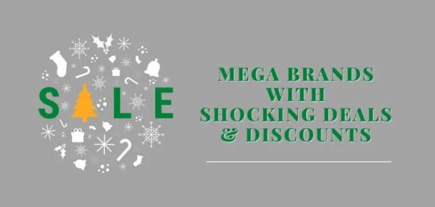 Mega brands deals bargains and discounts