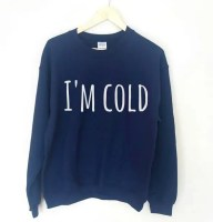 I'm Cold Sweater etsy