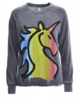 Vintage Grey unicorn Sweatshirt.