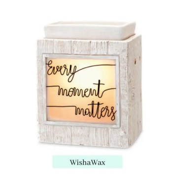 WishaWax Every Moment Matters Warmer