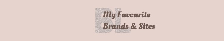 My Favourite Brands & Sites - Basic with Life blog post