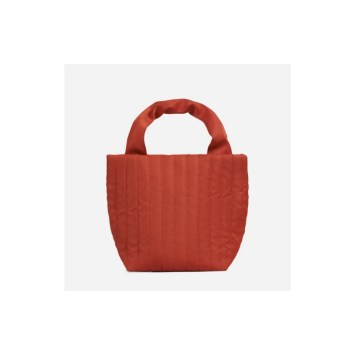 Red Quilted Hand bag Tote at EGO Shoes