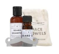 Men's Society Beard Washing Kit AT fRAGRANCE dIRECT