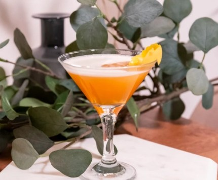 The Earl Grey Mar'TEA'ni *Limited Edition Cocktails