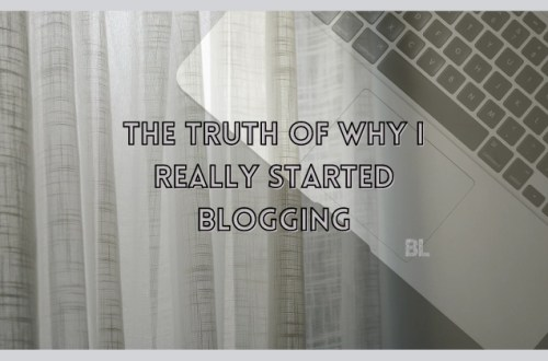 why be a blogger