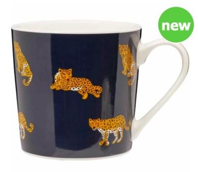 Leopard Repeat Mug