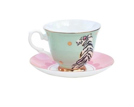 Safari Tiger Teacup & Saucer