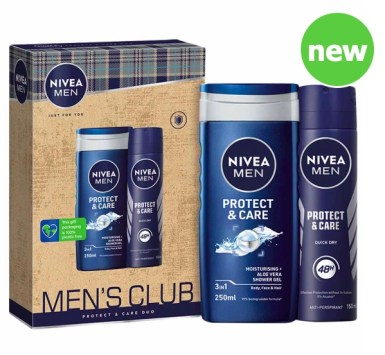 Nivea Men's Club Protect & Care Duo