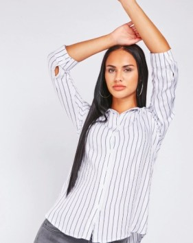 Metallic Striped Shirt Christmas gifts £5 and under