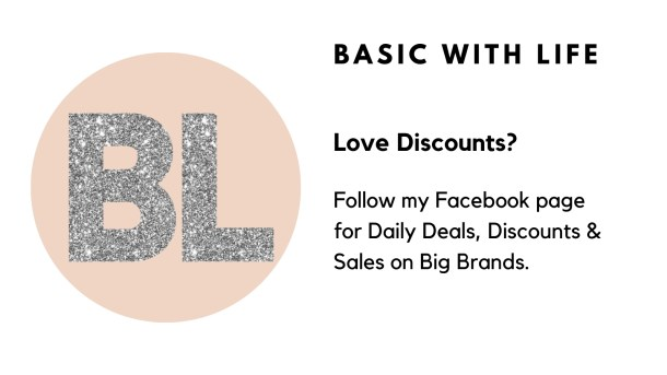 Follow my facebook page for daily discounts and sales. things to know about me.