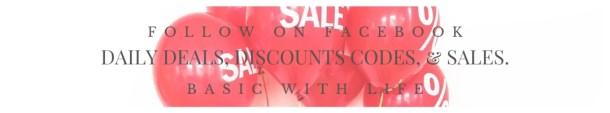 FOLLOW facebook discount