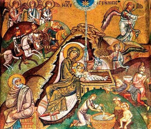 Image result for Sfântul Efrem Sirul - Imnul Nașterii Domnului