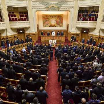 Palace of the Patriarchate | Scientific Session. The hours of the Union on the Hill of the Patriarchate were a time blessed by God, Patriarch says