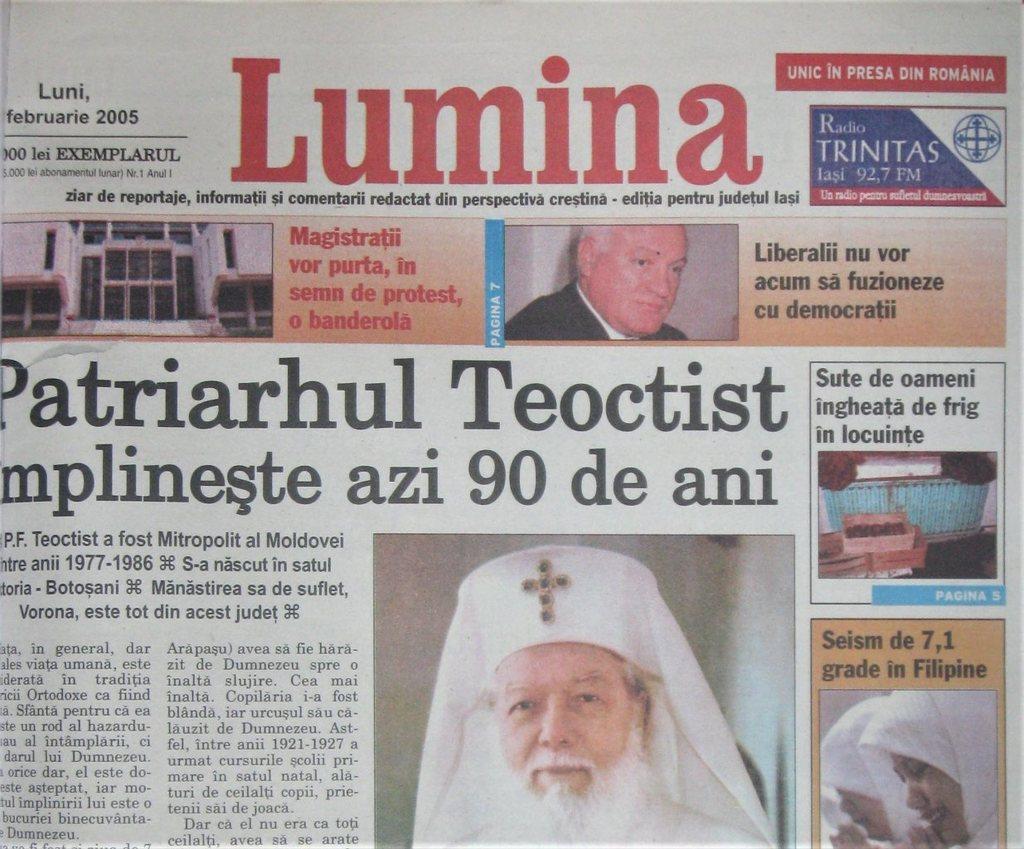 Imagini pentru ziarul lumina 2005  photos