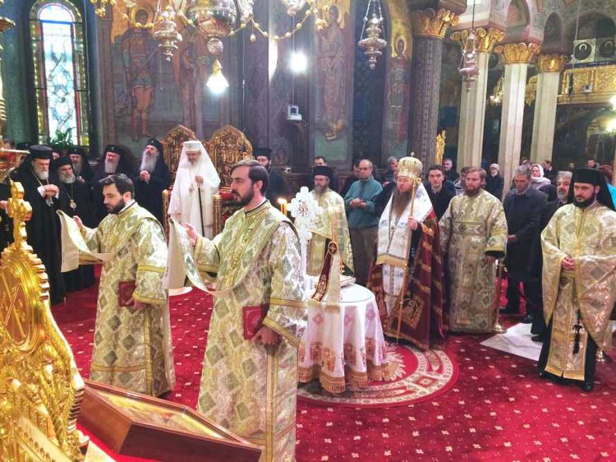 Te Deum la Patriarhie - Sf. Sinod 2017