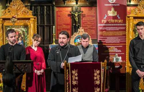 Concert de muzică bizantină la Londra
