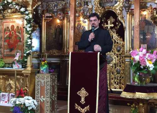 Diac. Sorin Mihalache conferință la Biserica Icoanei