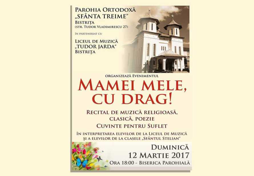 Eveniment cultural Bistriţa - 2017