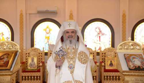 Patriarch Daniel homily at St Gregory the Enlightener Chapel