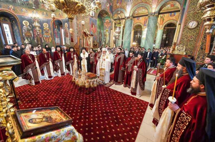 Patriarch Daniel, memorial service for Patriarch Justinian