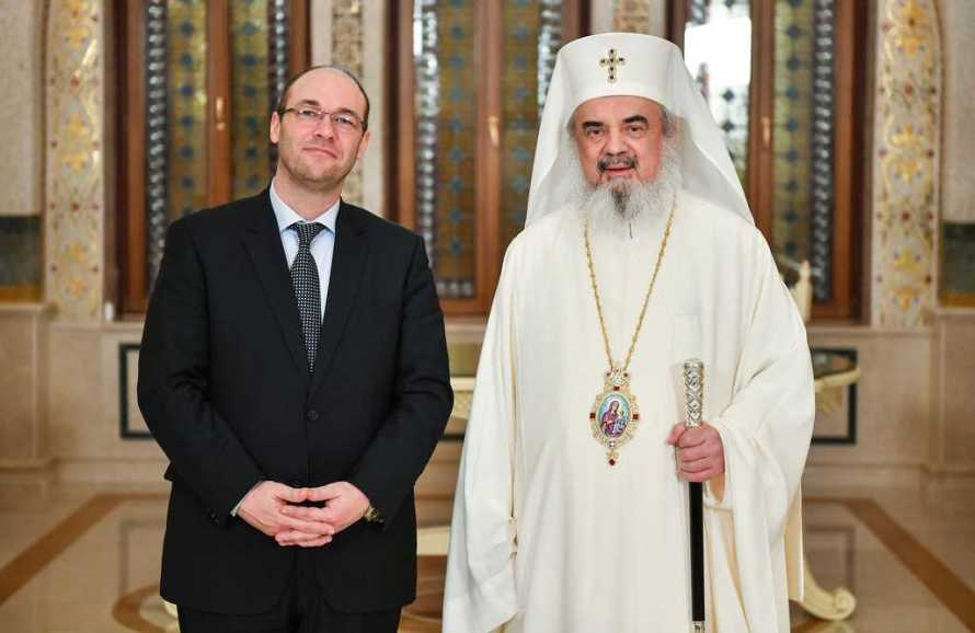 Deputy Prime Minister of Croatia, Davor Ivo Stier, pays visit to the Romanian Patriarchate