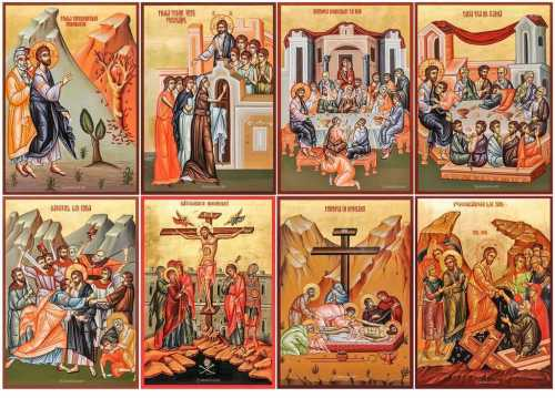 Icons of Holy and Great Week