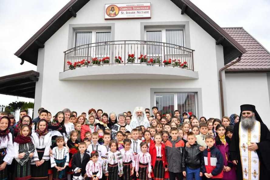 Patriarch Daniel blesses dental centre at Rădăuți