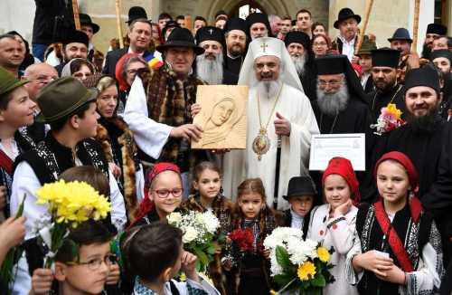 His Beatitude Patriarch Daniel at Putna Monastery 2017