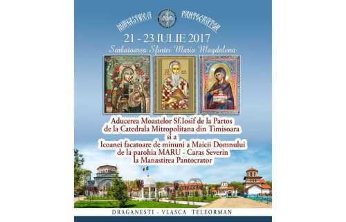 Aducerea moaştelor Sf. Iosif cel nou de la Partoş 2017