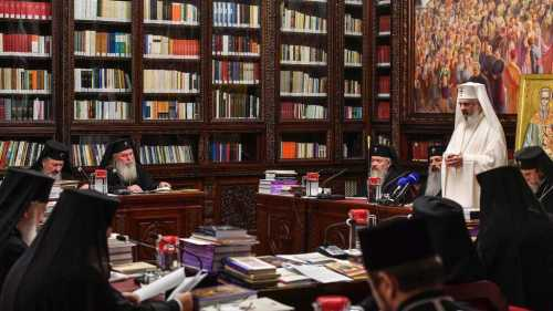 Holy Synod takes new decisions July 2017