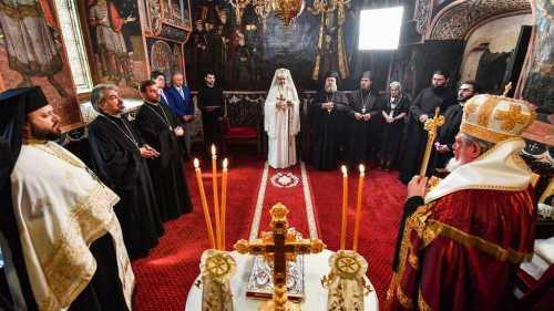 Patriarhul Daniel a aniversat 66 de ani prin rugaciune in Paraclisul istoric al Resedintei Patriarhale