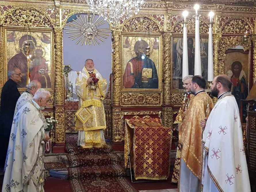 Românii Ortodocși din Istanbul au înălțat rugăciuni la Sfânta Muceniță Paraschevi