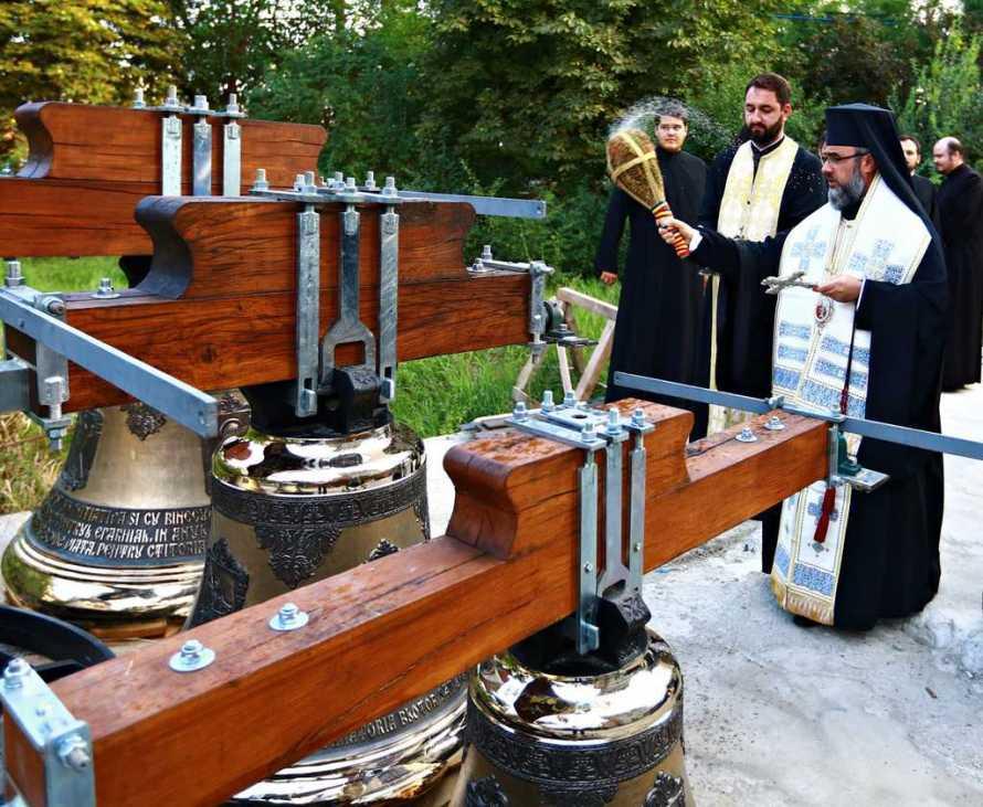 Arhiepiscopia Buzăului şi Vrancei - Sfinţire de clopote în data de 8 august 2017