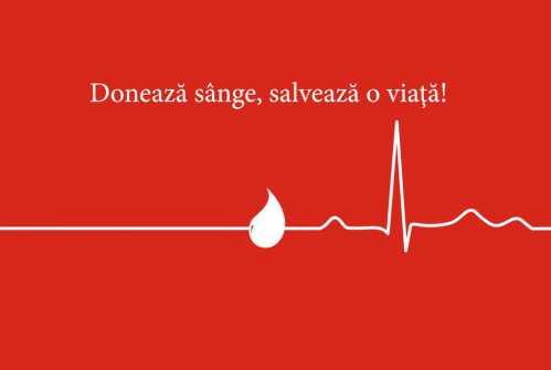 Donează sânge