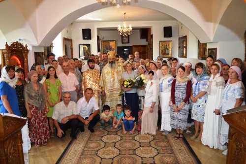 PS Antonie de Orhei la parohia Sfantul Stelian si Sfantul Mare Mucenic Gheorghe din Chisinau 27 august 2017